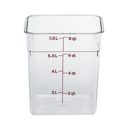CamSquare Container Clear 8 qt