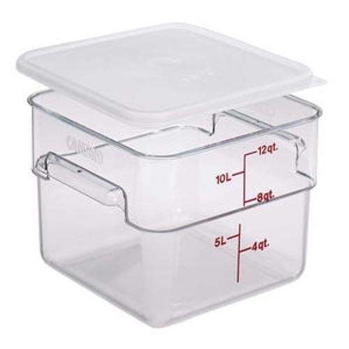 CamSquare Container Clear 12 qt