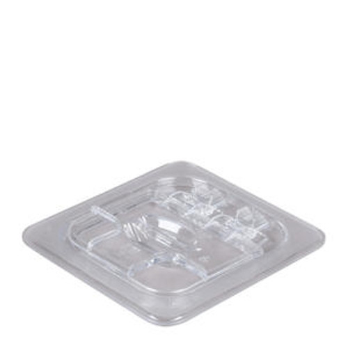 Camwear FlipLid Cover Sixth Size Notched Clear