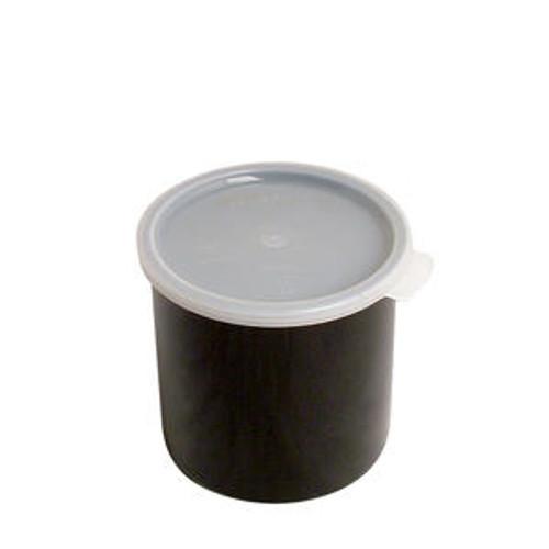 Crock with Lid Black 1.5 qt