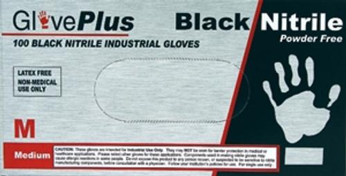 Black Nitrile Gloves - Powder Free