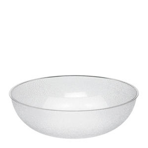 Bowl Pebbled Cl 18""