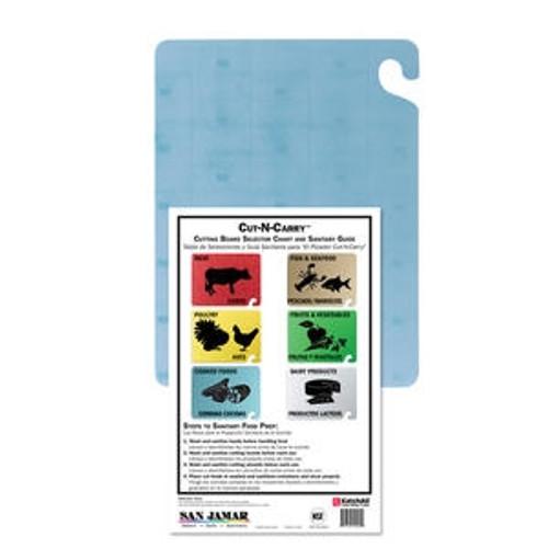 """Cut-N-Carry Board Blue 18"""" x 24"""""""