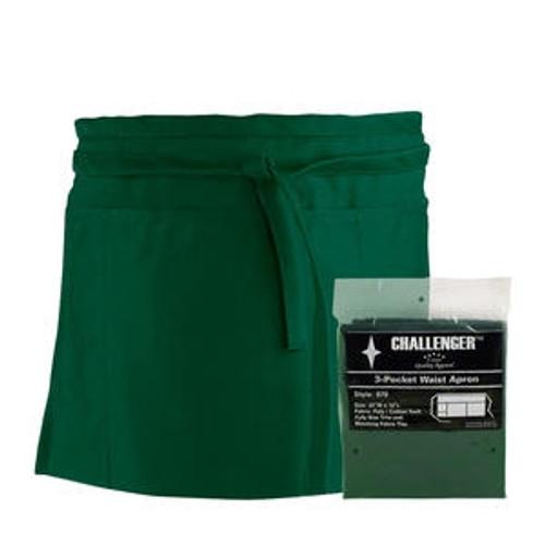 Challenger 3-Pocket Waist Apron Hunter Green