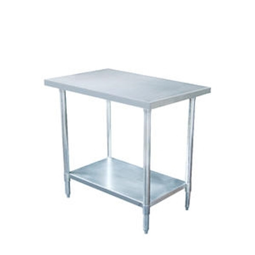 """Work Table Stainless 24"""" x 72"""" x 37"""""""