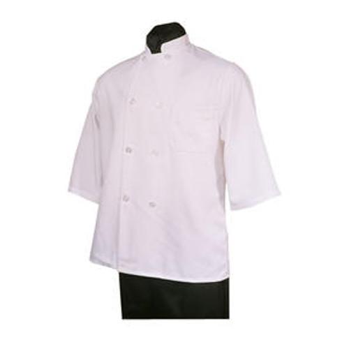 Chef Coat Short Sleeve White L