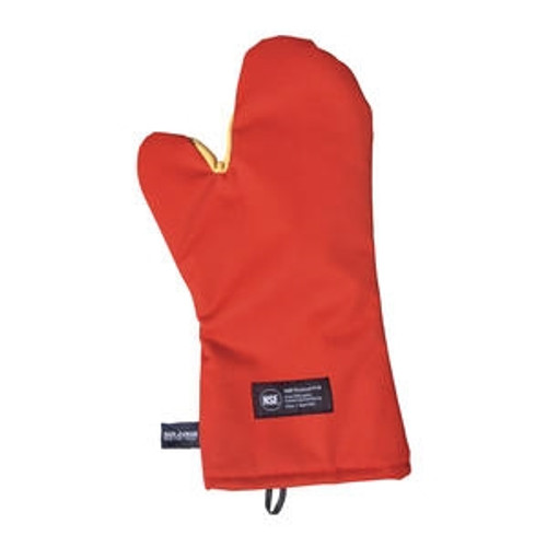 """Cool Touch Oven Mitt Red 24"""""""