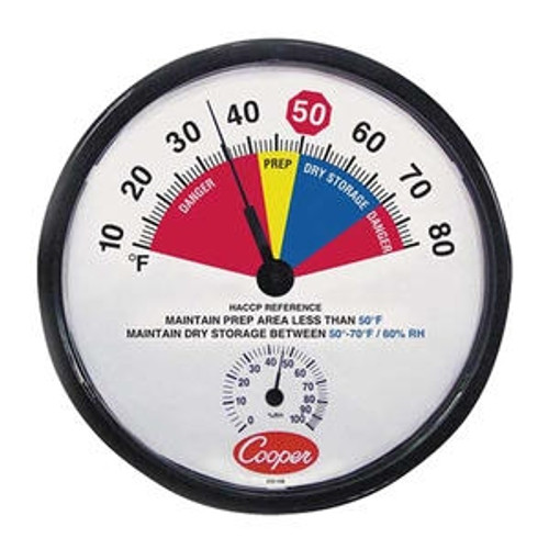 Dry Storage/Prep Area Thermometer