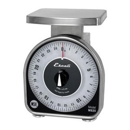 Escali Mechanical Dial Scale 25 lb x 2 oz