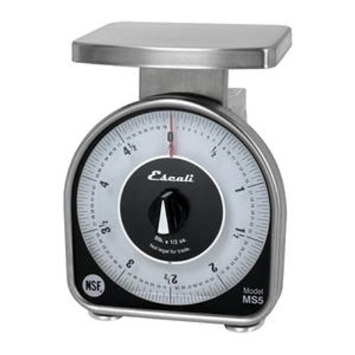 Escali Mechanical Dial Scale 5 lb x 0.5 oz