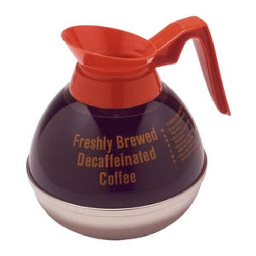 Decanter Decaf Orange Handle