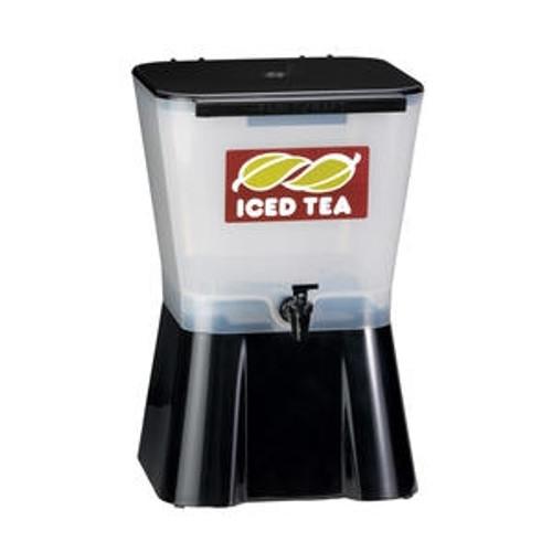 Iced Tea Dispenser White/Black 3 gal