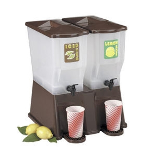 Double Dispenser Brown 3 gal