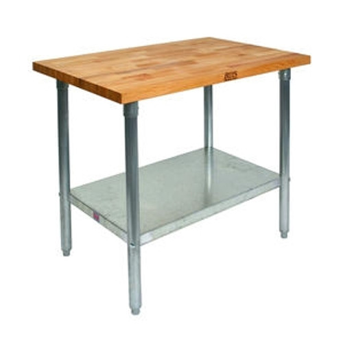 "Work Table Maple 30"" x 60"" x 35"""