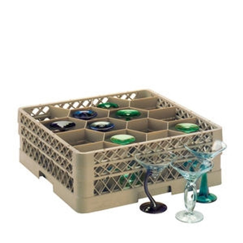 Traex Rack Max 12 Compartment with 3 Extenders Beige