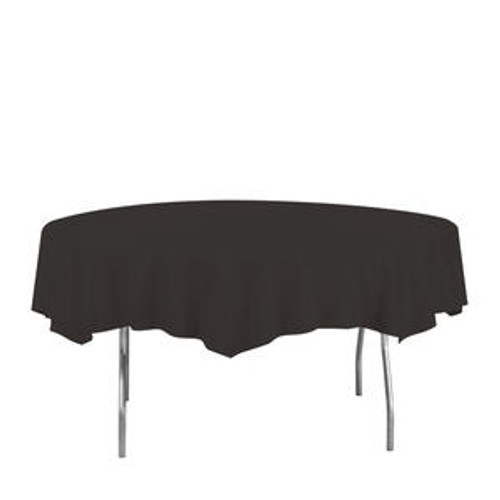 Tablecover Octagonal Black 82""