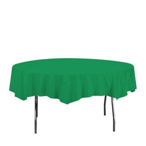 """Tablecover Octagonal Green 82"""""""