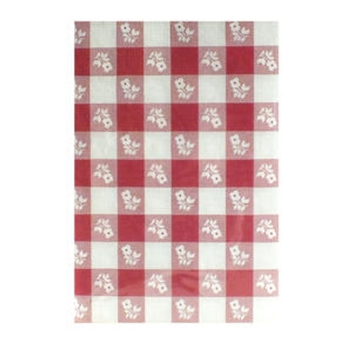 "Tablecover Gingham 40"" x 100'"