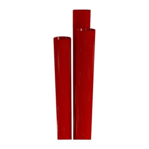 Choice Giant Straw Red 10 1/4""