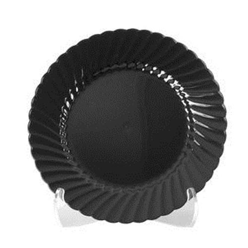 """Classicware Plate Black 7 1/2"""""""