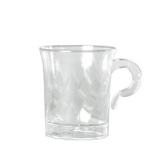 Classicware Coffee Cup Clear 8 oz
