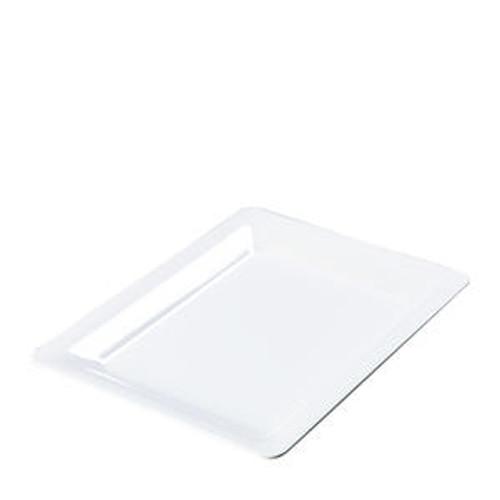 "Designer Displayware Platter Rectangular White 17"" x 13"""