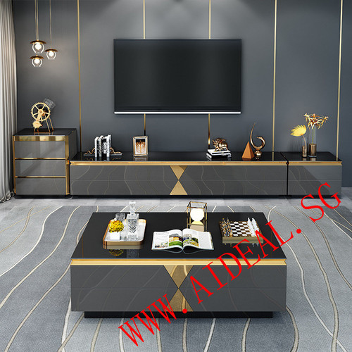 Modern TV console Coffee table