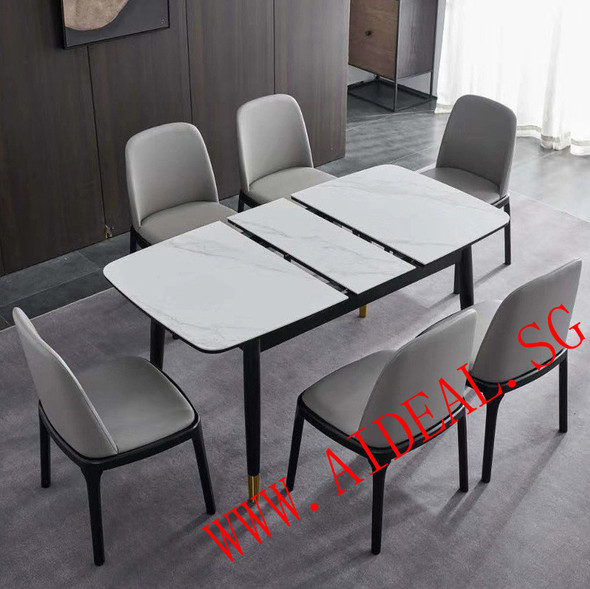 Sintered Stone Marble Design Dining Table