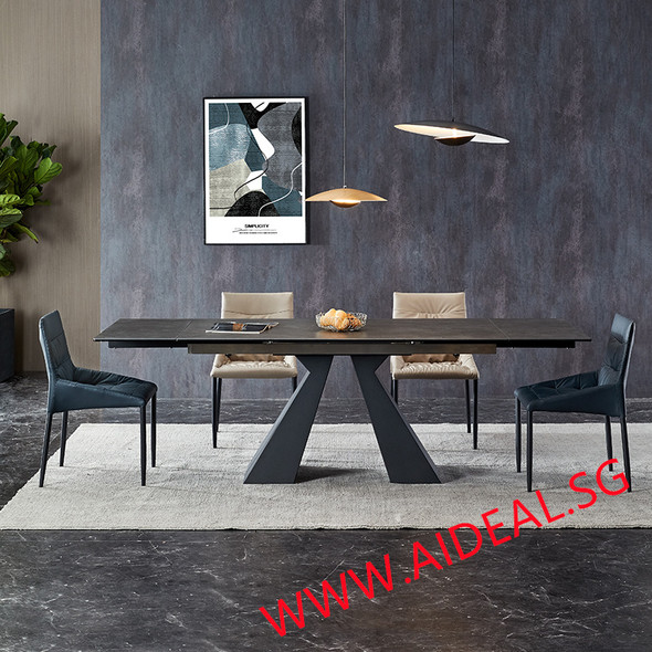 Side Extendable Dining Table