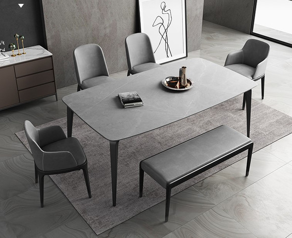 Modern Sintered Stone Dining Table