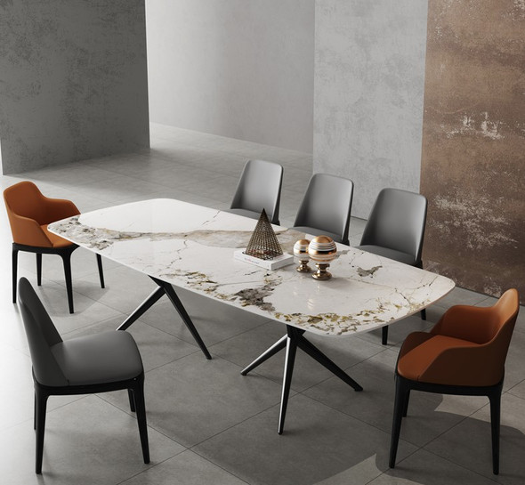 Luxurious Sintered Stone Dining Table