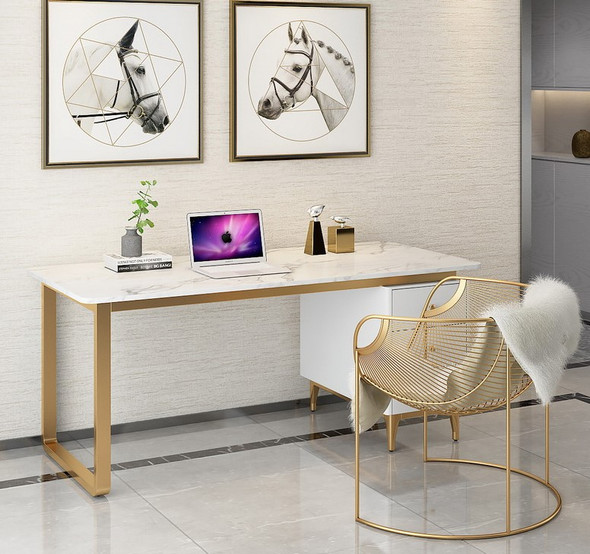Sintered Stone Study Table