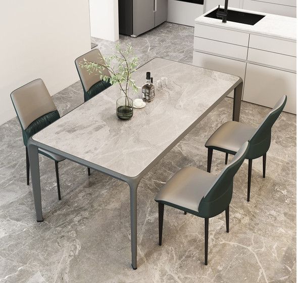 Glossy Sintered Stone Dining Table