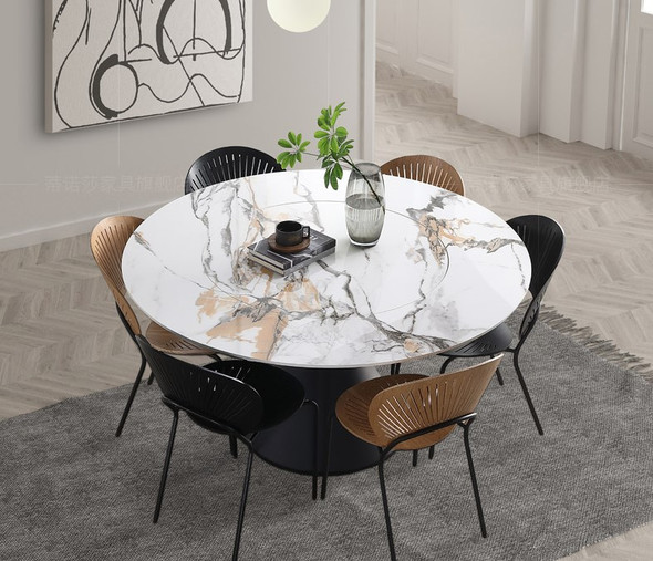 Orbits Sintered Stone Dining Table