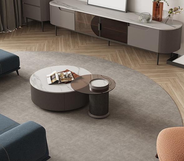 Modern Coffee Table Sintered Stone