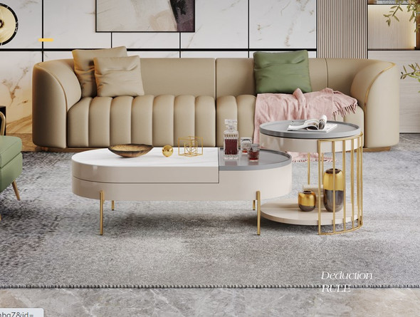 Sintered Stone Nesting Coffee Table / TV console