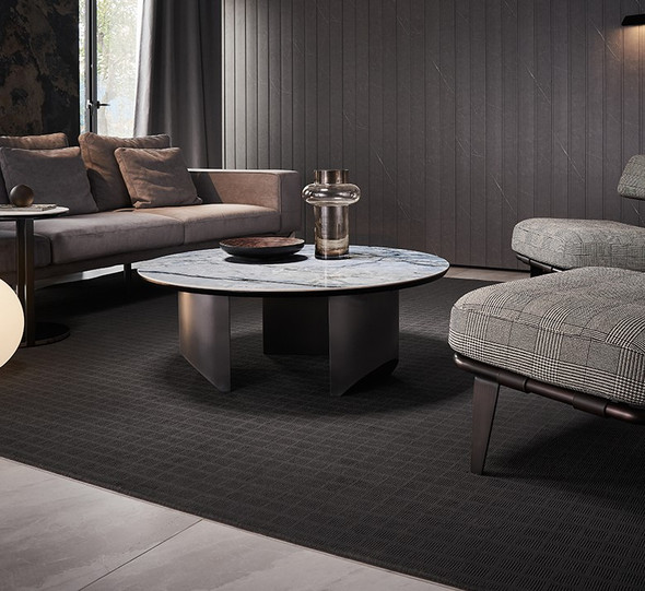 Elegant Sintered Stone Coffee Table