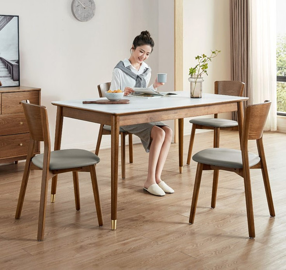 Classic Sintered Stone Dining Table