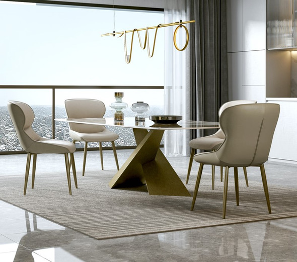 Modern Minimalist Leather Chair