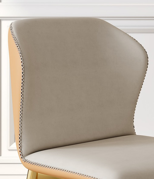 Nordic Luxury Leather Dining Chair