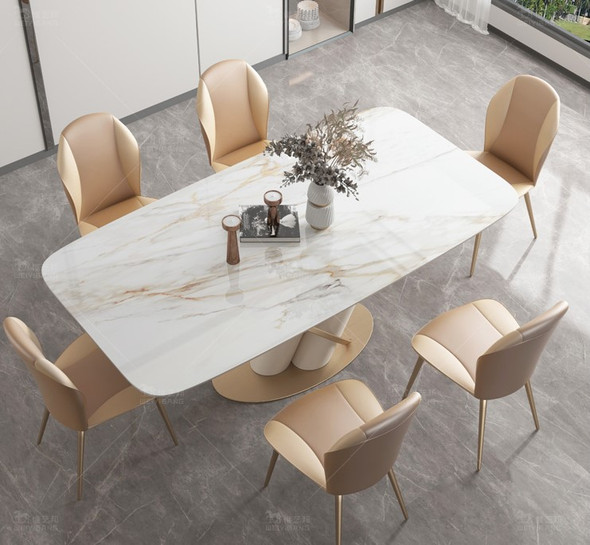 Contemporary Modern Sintered Stone Dining Table
