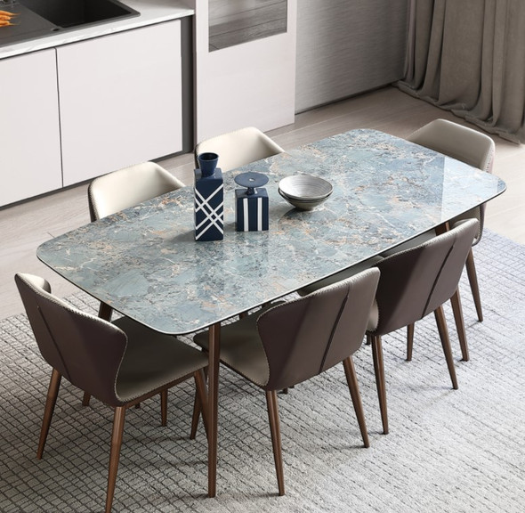 Amazon Green Sintered Stone Dining Table