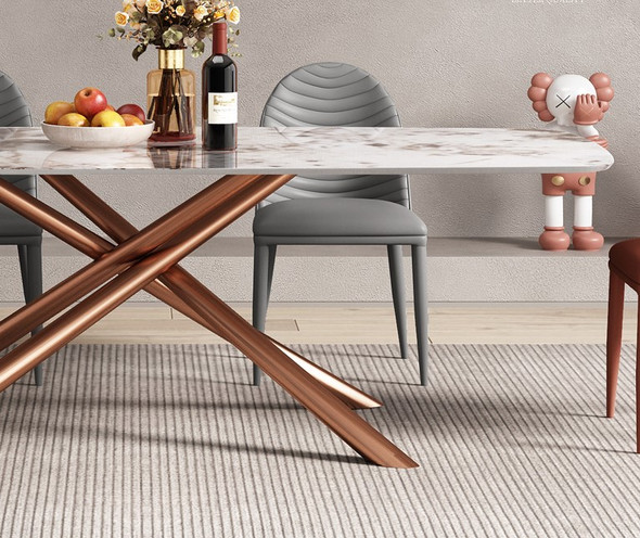 Modernistic Design Sintered Stone Dining Table