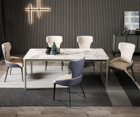 Minimalistic Style Sintered Stone Dining Table