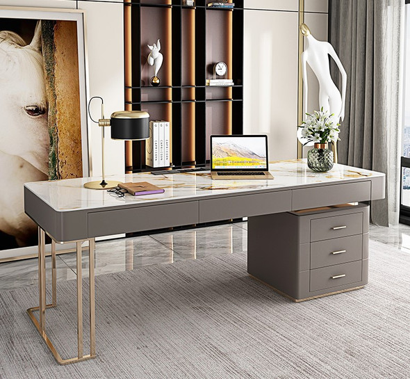 sintered stone Singapore, director table, study table, office desk