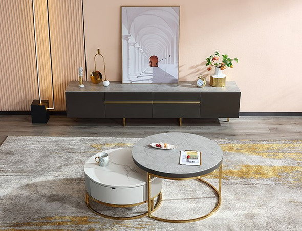 Coffee Table / TV Console Sintered Stone