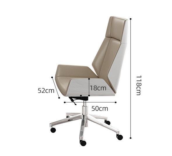 Leather Study Chair / Office Chair