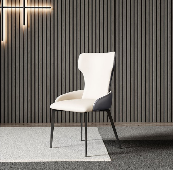 Modernistic Leather Dining Chair