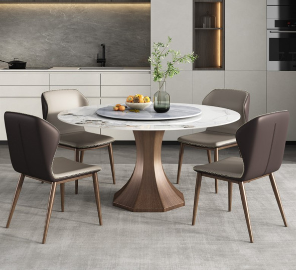 Oriental Design Sintered Stone Dining Table