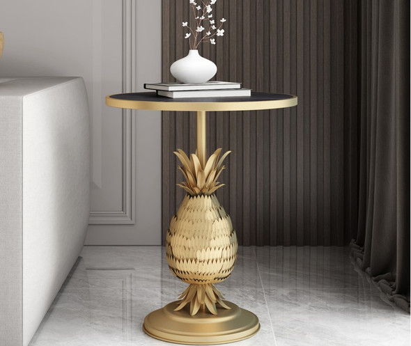 Modern Sintered Stone Side Table